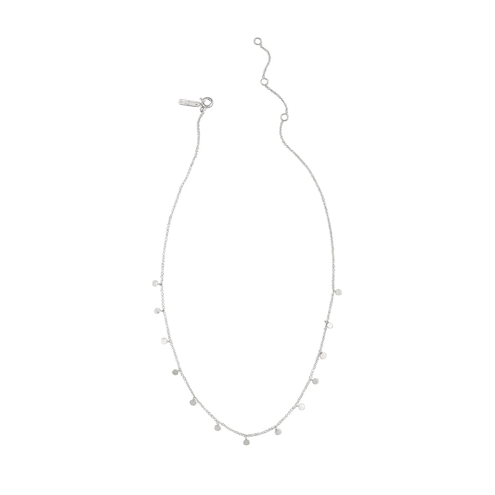 Jolie & Deen Olive Sterling Silver Necklace
