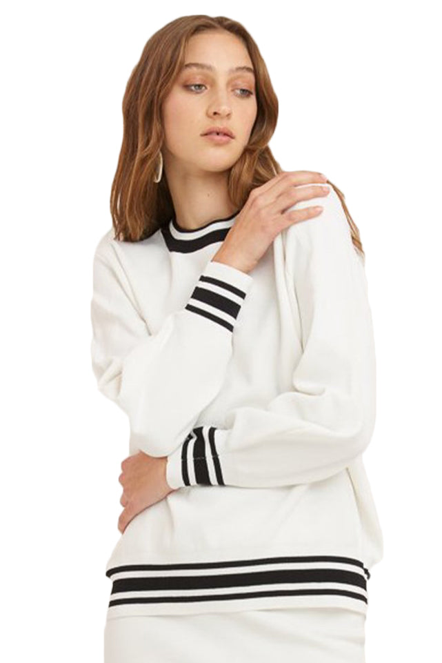 Vestire Sure Thing Sweater in White