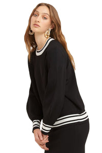 Vestire Sure Thing Sweater in Black