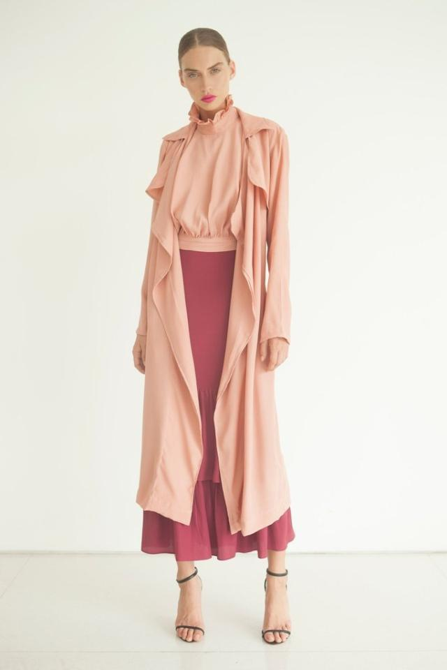 S/W/F Pepe Coat in Light Pink