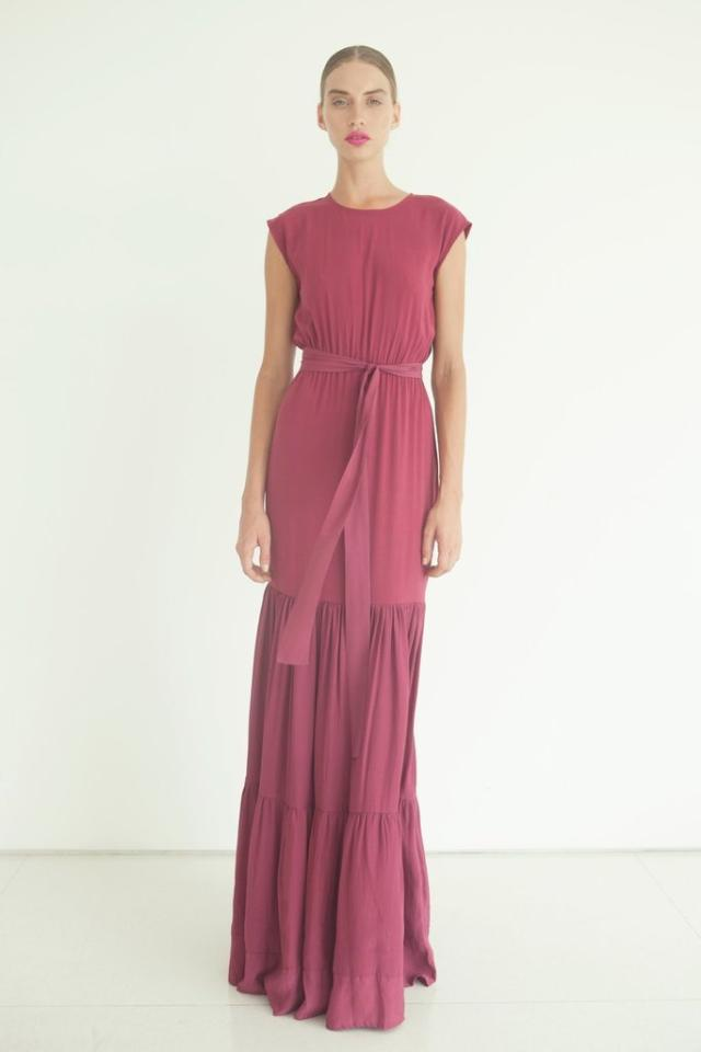 S/W/F Vogue Dress in Raspberry
