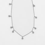Jolie & Deen Teardrop Sterling Silver Necklace