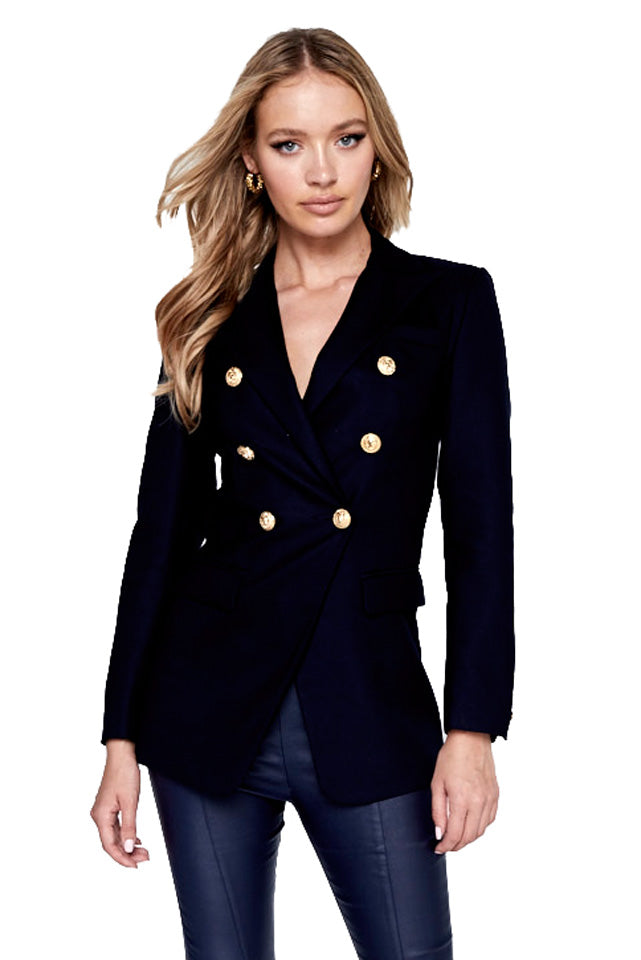 Mossman Signature Blazer in Navy