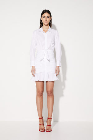 Mossman The Love Triangle Dress in White