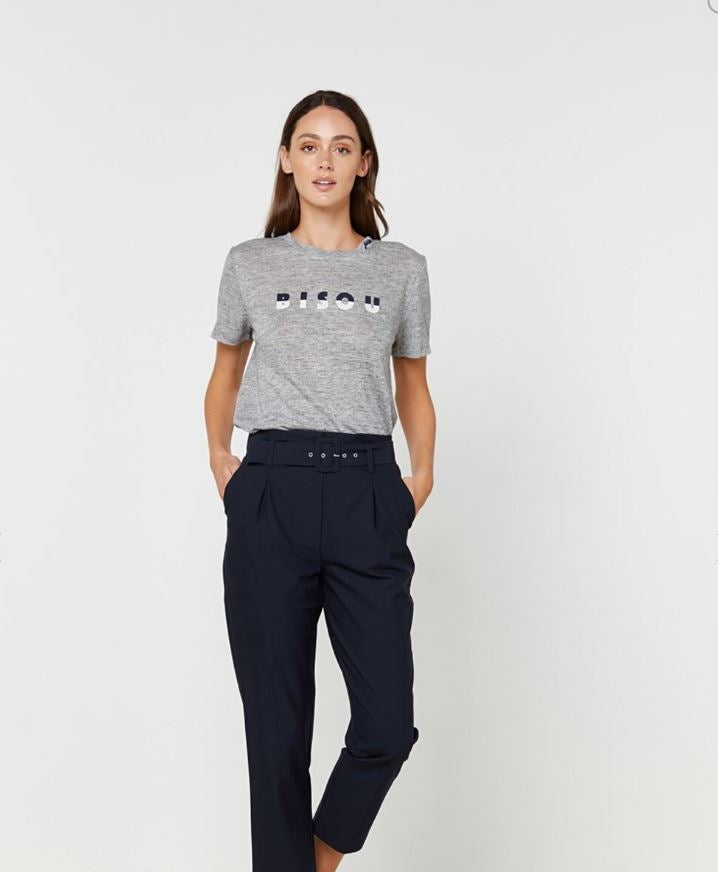 Elka Collective Bisou Tee in Grey
