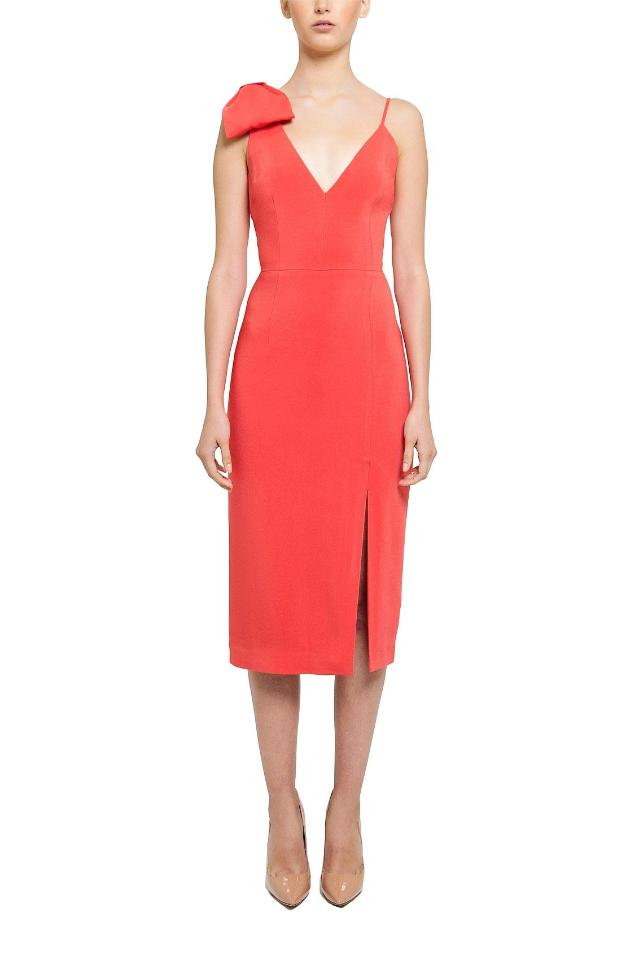 Rebecca Vallance Claudette Dress in Orange