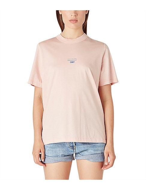Camilla & Marc George Tee in Cameo Rose