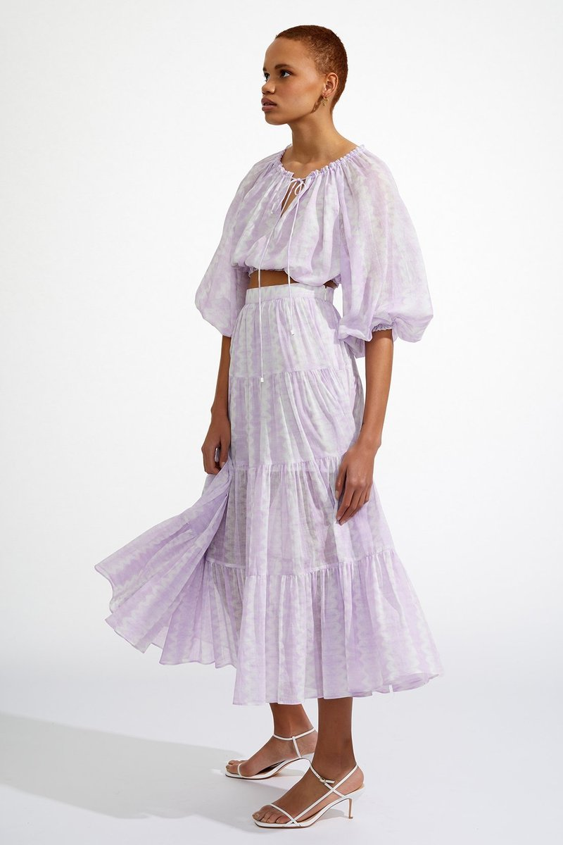 Steele Coco Skirt in Lavender Mist