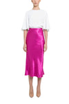 Rebecca Vallance Loren Skirt in Magenta