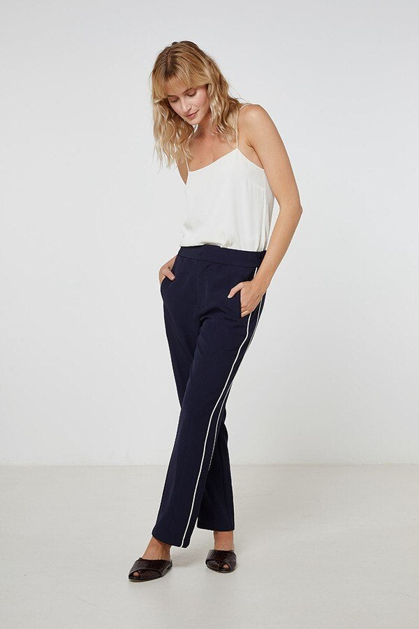 Elka Monet Pant in Navy