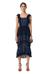 Elliatt Angelica Dress in Navy