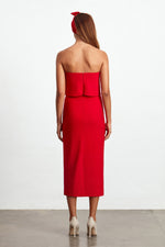 Elliatt Marino Dress in Red