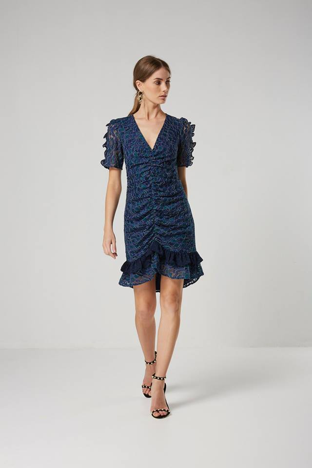Elliatt Paradise Dress in Navy