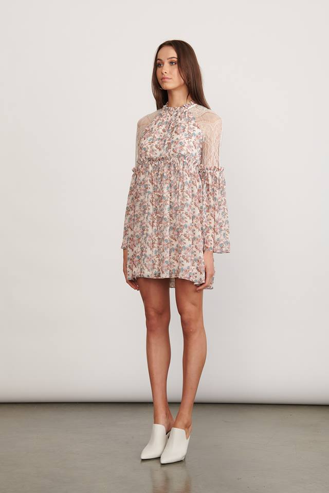 Elliatt Realm Dress in Pink