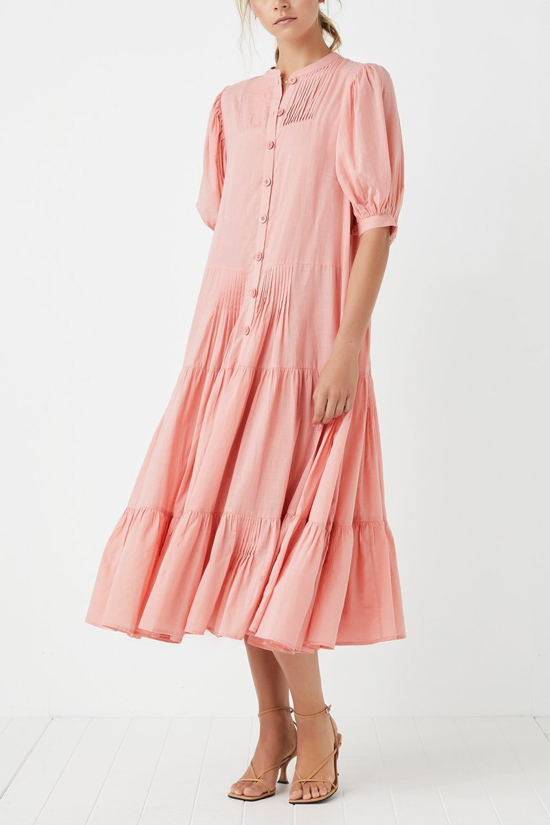 Steele Fiji Dress in Rose
