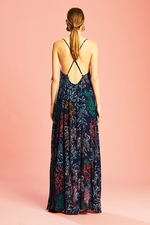 Ginger & Smart Illustrate Maxi Dress in Illustrate