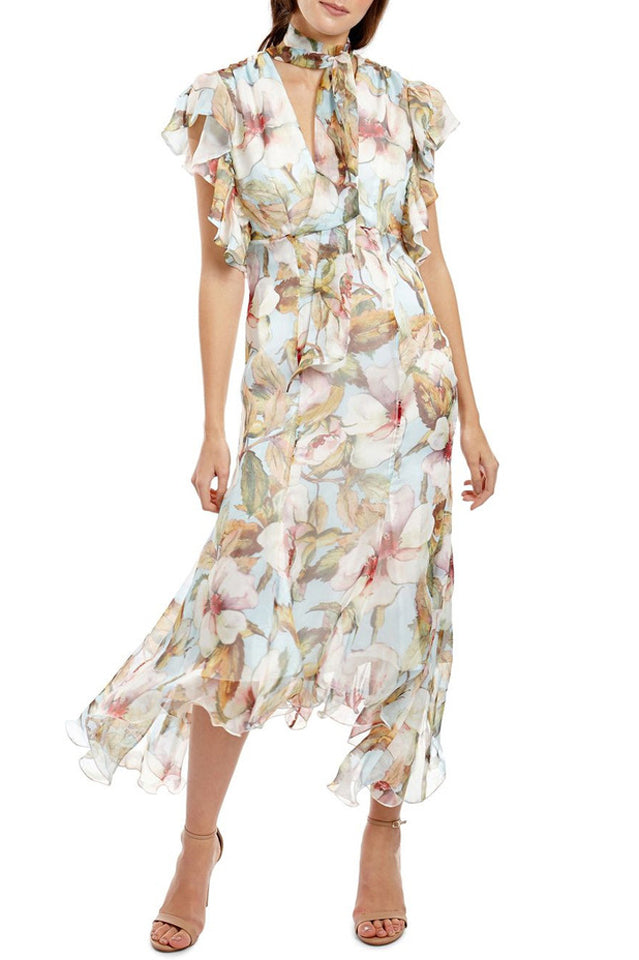 Georgy Charlotte Dress in Floral