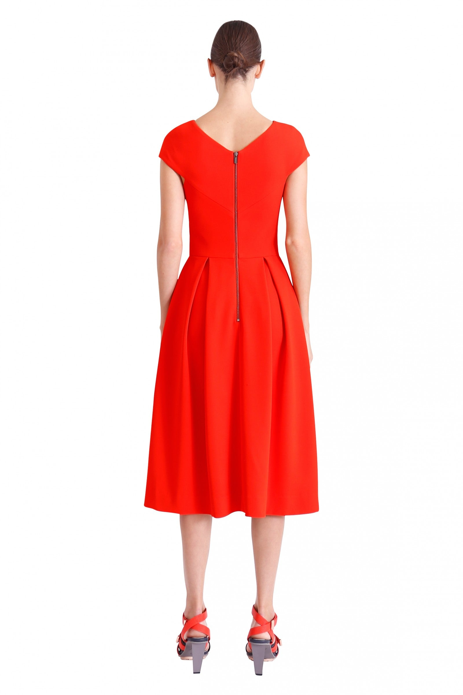 Ginger & Smart Endure Dress in Geranium