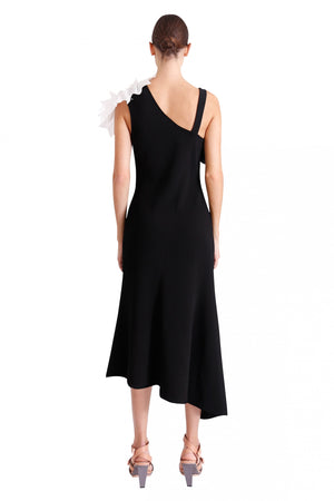 Ginger & Smart Structure Dress in Black Ivory