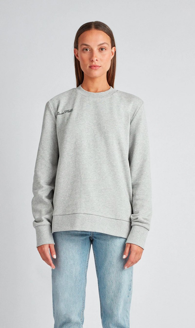 Camilla & Marc Jordan Crew in Grey Marle