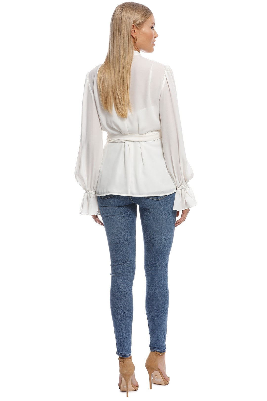 Keepsake Imagine Long Sleeve Top in Ivory