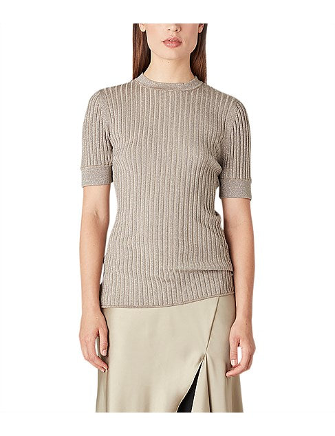 Camilla & Marc Knit in Light Gold