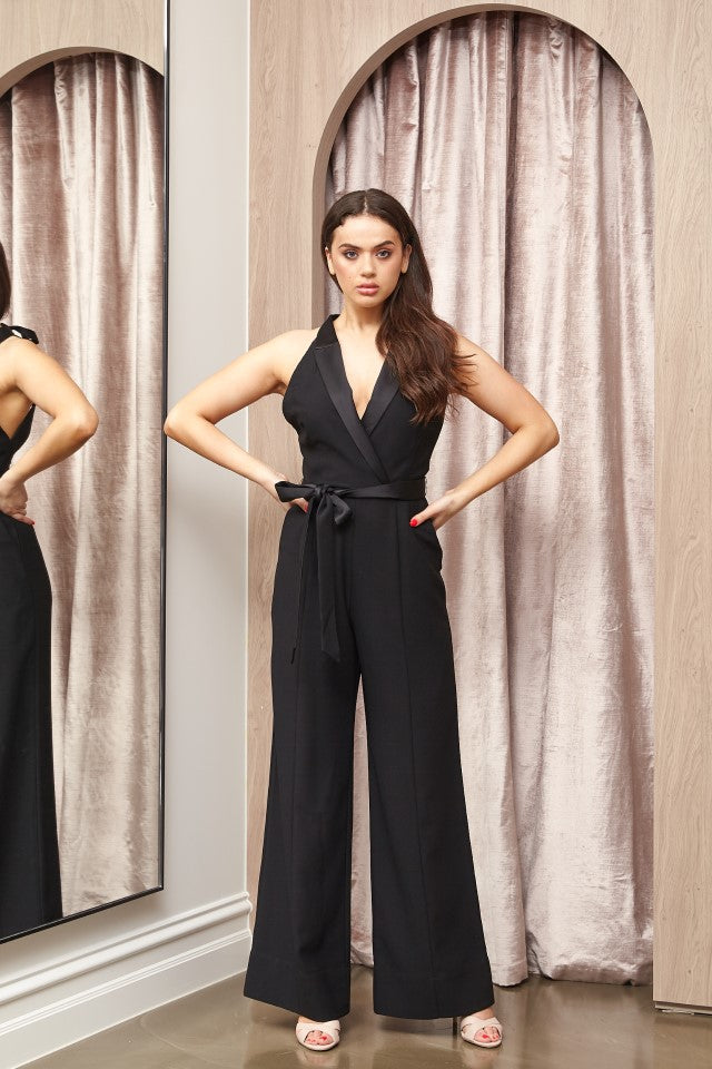 Lover Riviera Jumpsuit in Black