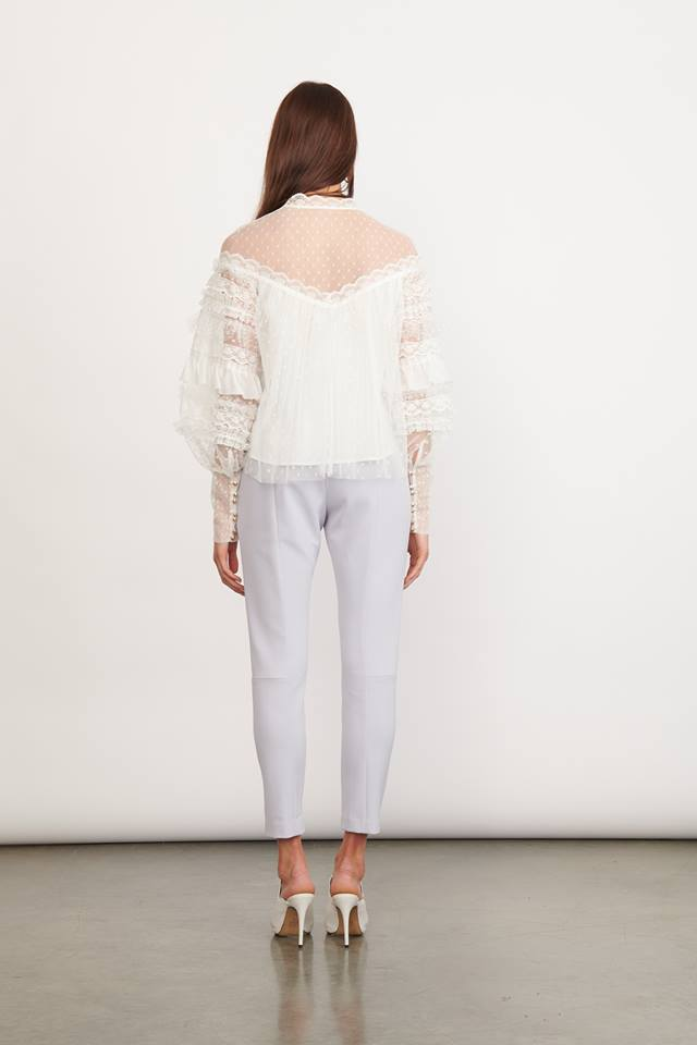 Elliatt Mirage Blouse in White