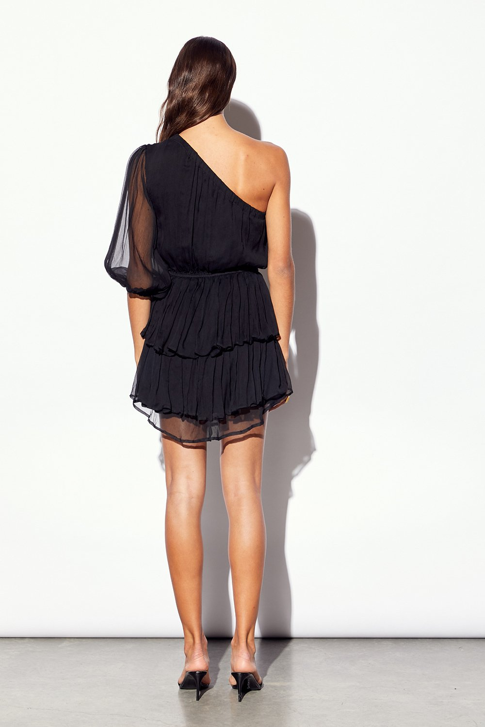 MLM Reims Silk Dress in Black