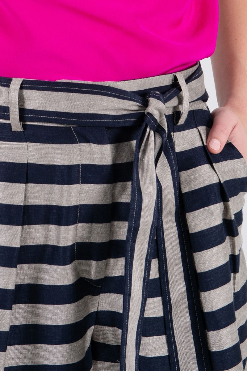 Rebecca Vallance Nautique Short in Stripe