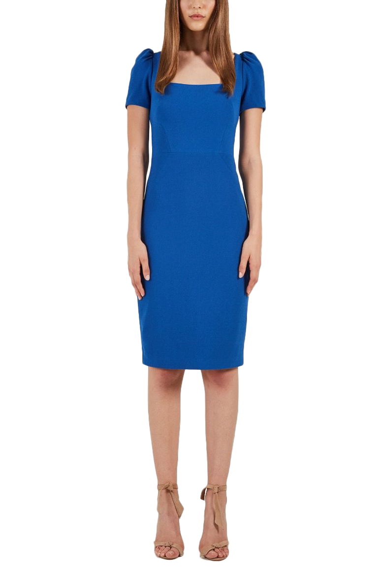 Rebecca Vallance Poppy Dress in Cobalt