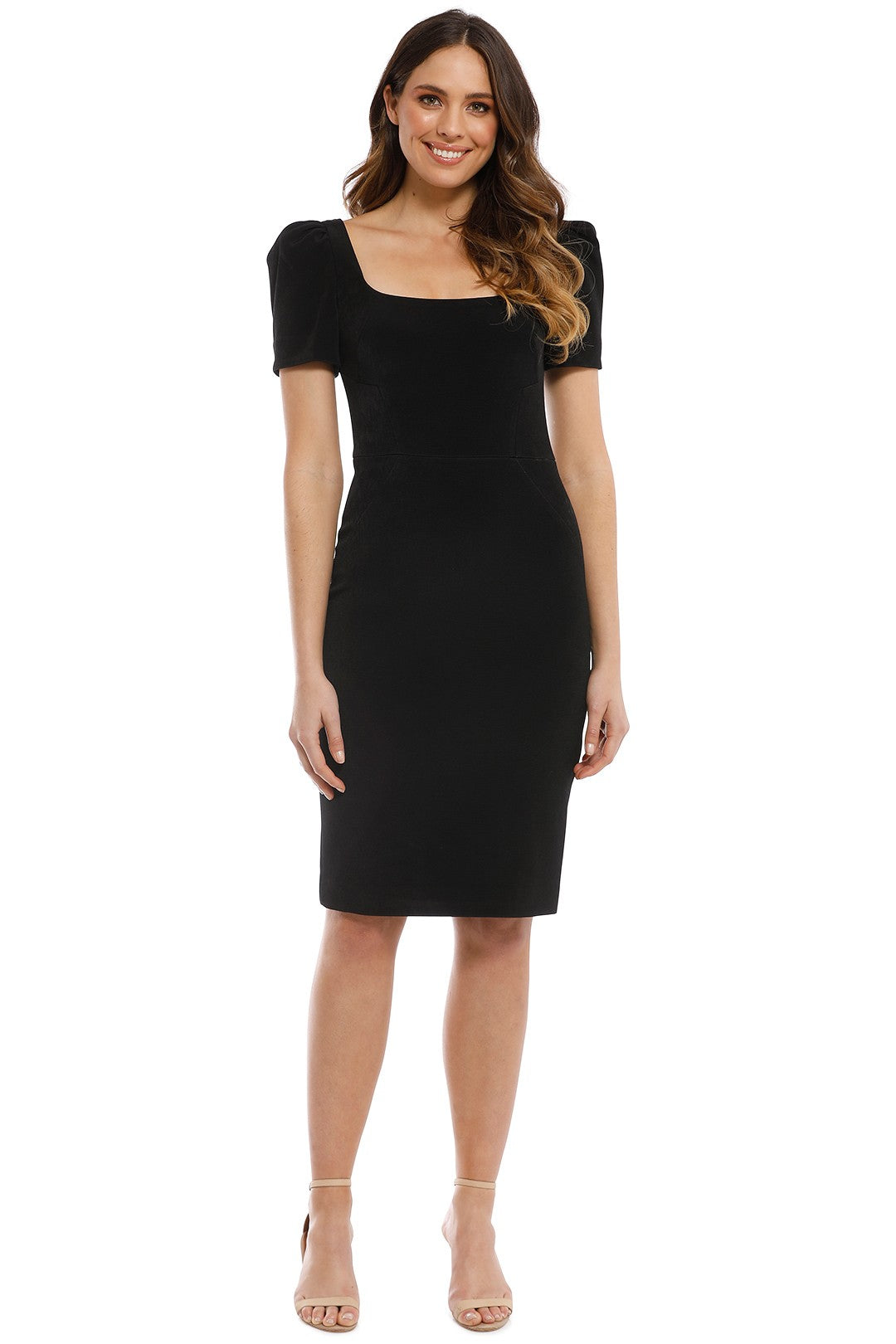 Rebecca Vallance Ivy Dress in Black