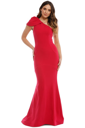 Rebecca Vallance Poppy Gown in Barberry