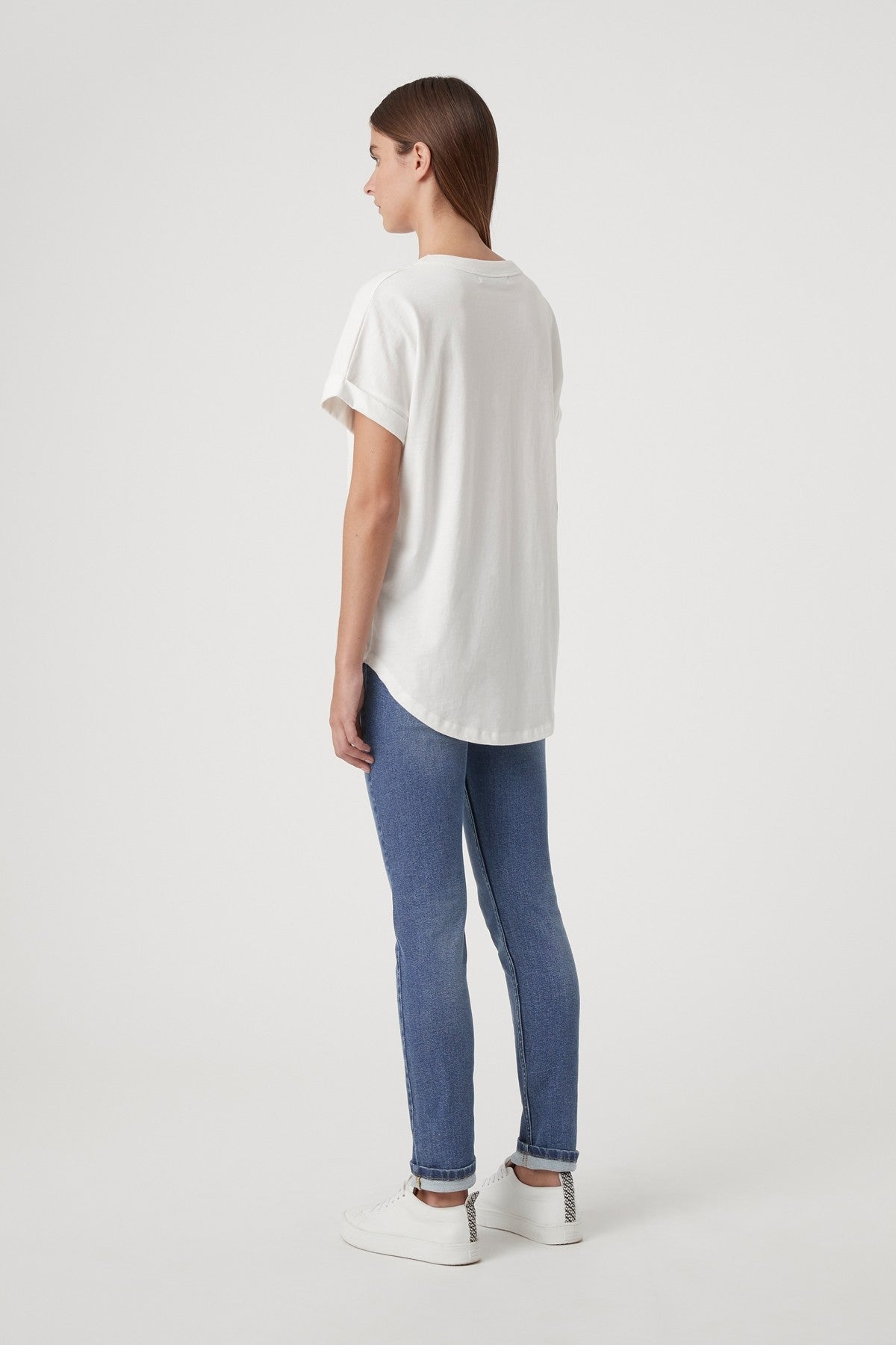 Camilla and Marc Huntington Tee in White
