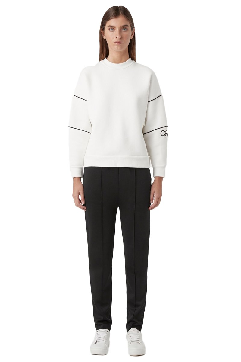 Camilla & Marc Sylvie Crew in Soft White