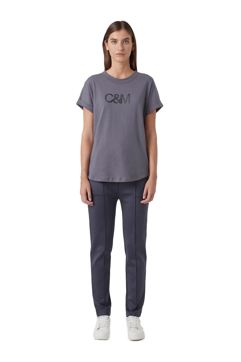 Camilla and Marc Huntington Tee in Navy Slate