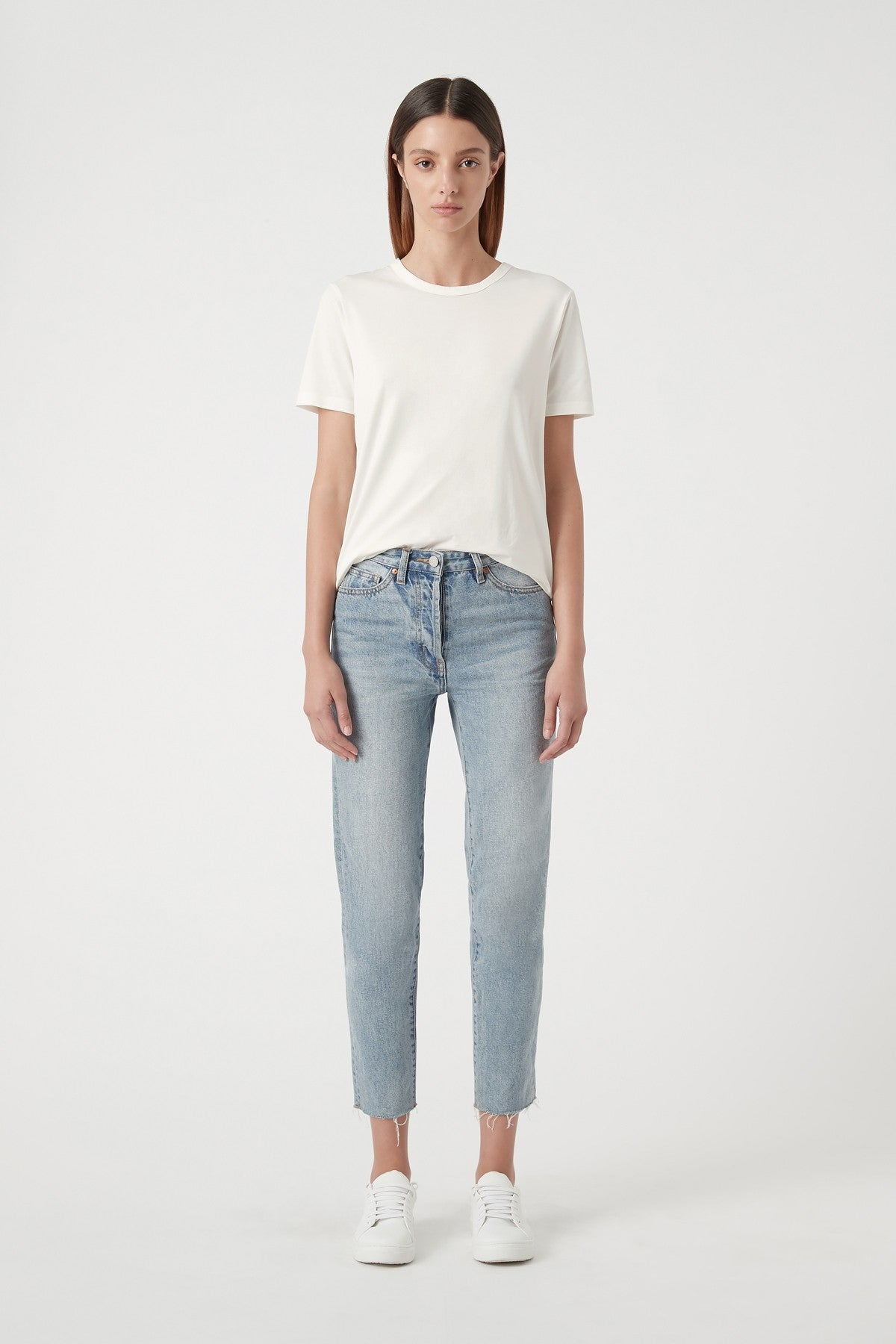 Camilla and Marc Margot Cropped Straight Leg Jean