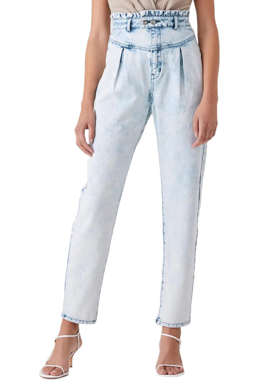 Steele Marilyn Pants in Ice Wash