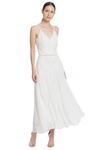 We Are Kindred Coco Sleeveless Maxi Dress in White Lilly