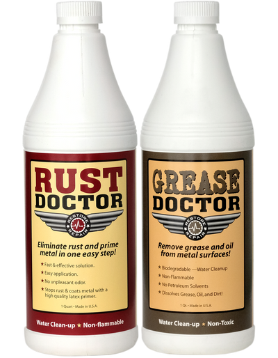 Rust Doctor - 1 Quart + 50% OFF Grease Doctor - 1 Quart