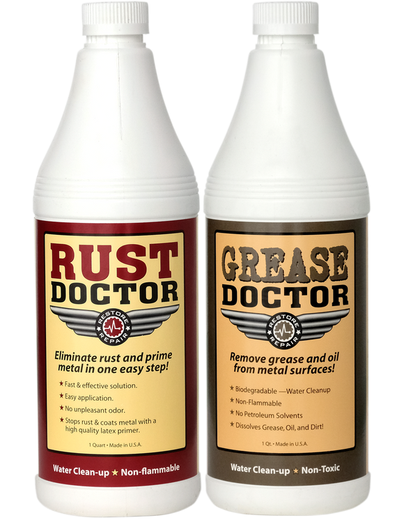 Rust Doctor - 1 Quart + 50% OFF Grease Doctor  Quart    FREE SHIPPING