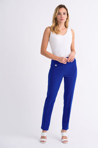 Joseph Ribkoff Silky Knit Pull On Pant - Royal Blue