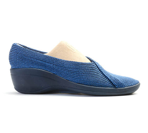 Arcopedico Mailu Crossover Wedge - Denim