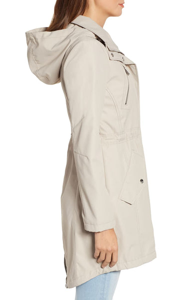 Kenneth Cole Soft Shell Anorak Jacket - Bone - Sugg. $140.00
