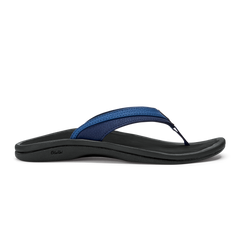 OluKai 'Ohana Toe Post Sandal - Blueberry/Black