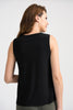 Image of Joseph Ribkoff Cami Top - Black