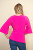 Image of Joseph Ribkoff Side Tie Tunic - Azalea