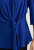 Image of Joseph Ribkoff Side Tie Tunic - Royal Blue