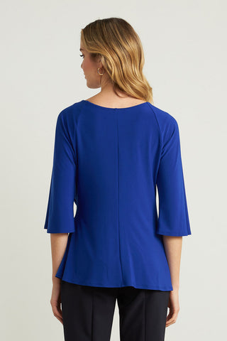 Joseph Ribkoff Side Tie Tunic - Royal Blue