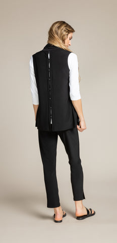 Sympli Icon Shift Vest - Black
